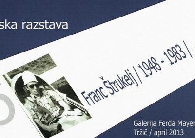 Štrukelj Franc 2013 Spominska razstava vabilo 3a