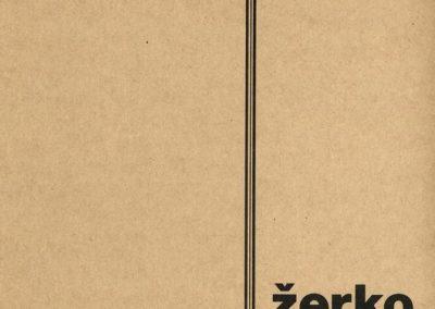 Žerko Stane 1984 katalog 3a