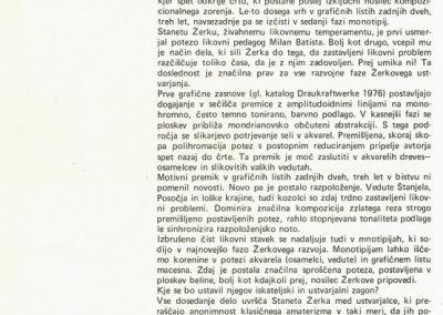 Žerko Stane 1984 katalog 3c