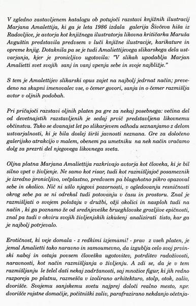 Amalietti Marjan 2000 Freska nekega časa olja vabilo 3b