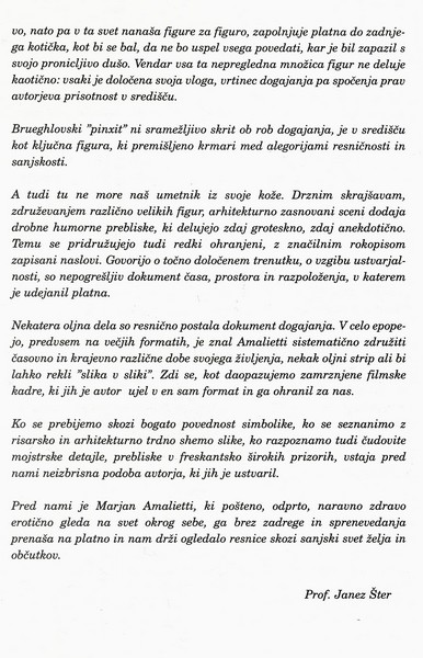 Amalietti Marjan 2000 Freska nekega časa olja vabilo 3c