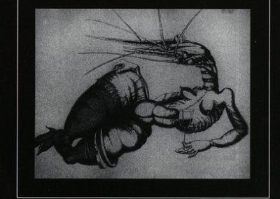 Dolenc Veno 1997 Spleen vabilo 3a