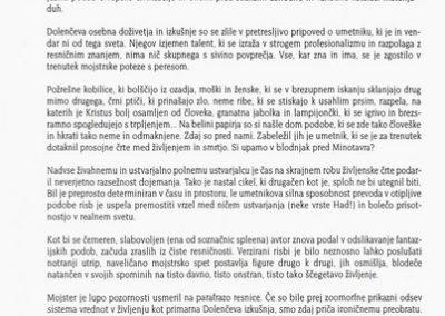 Dolenc Veno 1997 Spleen vabilo 3c