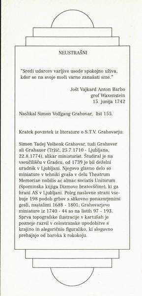 GRAHOVAR Simon Tadej Volbenk 2002 vabilo 3d