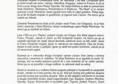 Gartner Nadja 1995 Rodovniki rodbine Dobrin vabilo 3c