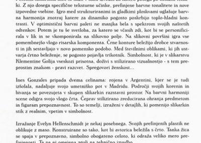 Golja Katarina et al 1999 mednarodna razstava Ženske v umetnosti vabilo 3e