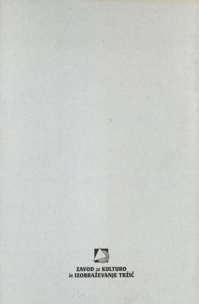 Kiraly Ferenc 1998 Razklenjeno v prostoru vabilo 3f