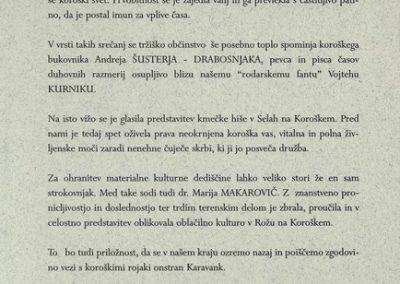 Makarovič Marija 1998 Oblačilna kultura v Rožu vabilo 3c