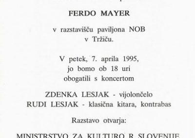 Mayer Ferdo 1995 Amplitude vabilo 3b