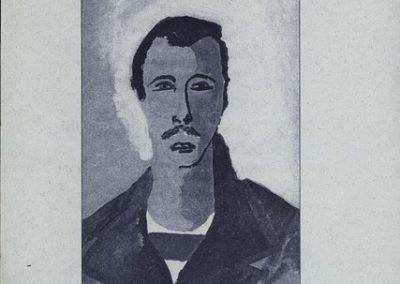 Mayer Ferdo 1999 Portreti vabilo 3a