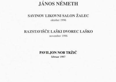 Nemeth Janos 1997 katalog 3c