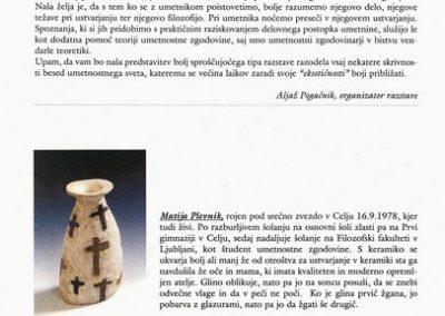 Plevnik Matija Tacol Boštjan Iztok Klančar 1999 Kunsthisterik vabilo 3c