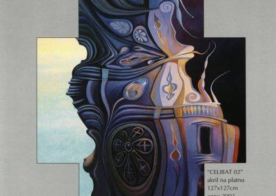 Povaley A.B. 2005 Slikarstvo barvnih zlatih rezov katalog 3c