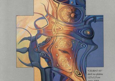 Povaley A.B. 2005 Slikarstvo barvnih zlatih rezov katalog 3e