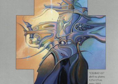 Povaley A.B. 2005 Slikarstvo barvnih zlatih rezov katalog 3f