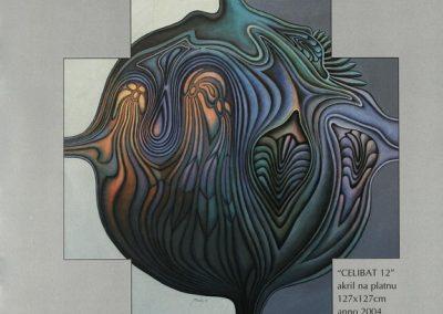 Povaley A.B. 2005 Slikarstvo barvnih zlatih rezov katalog 3i