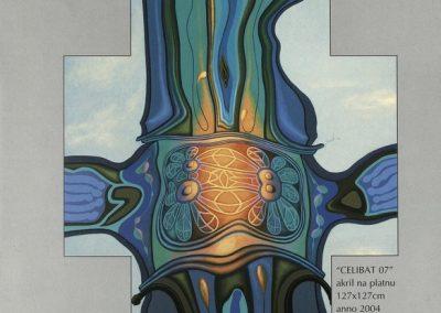 Povaley A.B. 2005 Slikarstvo barvnih zlatih rezov katalog 3k