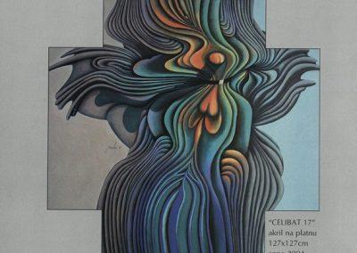 Povaley A.B. 2005 Slikarstvo barvnih zlatih rezov katalog 3l