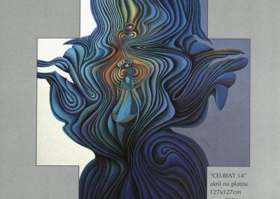 Povaley A.B. 2005 Slikarstvo barvnih zlatih rezov katalog 3n