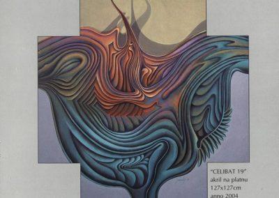 Povaley A.B. 2005 Slikarstvo barvnih zlatih rezov katalog 3o