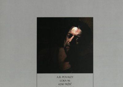 Povaley A.B. 2005 Slikarstvo barvnih zlatih rezov katalog 3p