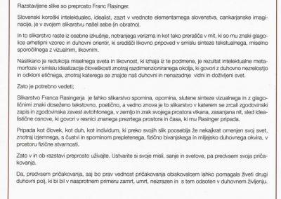 Rasinger Franc 2015 Sledovi časa vabilo 3c