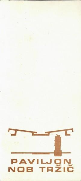 Ribnikar Cene 1974 vabilo 3a