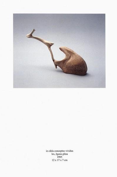 Vidrgar Alenka 1996 Skulpture katalog 3m